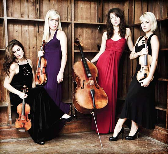 Female String Quartet | Grazioso Strings Female String Quartet London