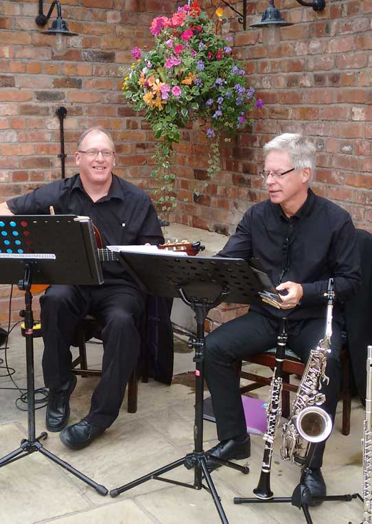 Jazz Duo Wirral for hire | Hire a Jazz Duo Wirral | Wirral Jazz Duo for hire | Jazz Duo Wirral | The Mello Tones Jazz Duo Wirral