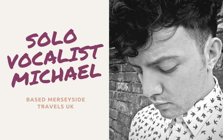 Solo Singer Liverpool | Vocalist for hire Liverpool | Singer Liverpool
