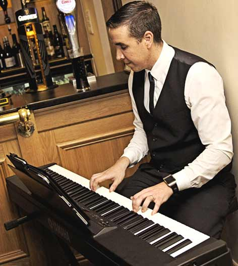 Pianist Liverpool James | Liverpool Pianist | Pianist Liverpool Merseyside James available from Atrium Entertainment Agency