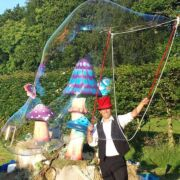 Bubble Show | Bubblefun! is a bubble show available to hire from Atrium Entertainment Agency