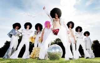 Disco Band Tongue in Chic based Hertfordshire and travelling worldwide
