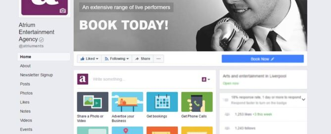 Atrium Entertainment Agency at Facebook | Facebook Account for Atrium Entertainment Agency