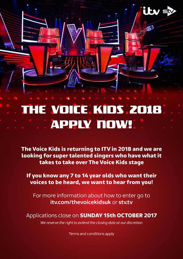The Voice Kids ITV UK Singing Competition