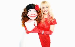Sarah and Friends Ventriloquist act