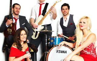 Party Band Hampshire | Rhythms Party Band Hampshire | Wedding Band Hampshire Rhythms | Rock Pop Party Band