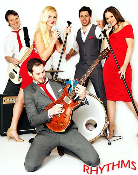 Party Band Hampshire | Rhythms Party Band Hampshire | Wedding Band Hampshire for hire from Atrium Entertainment Agency