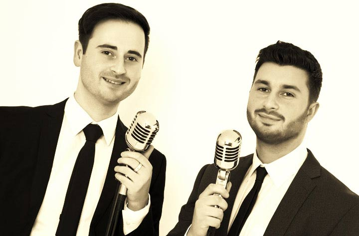 Vocal Duo Manchester   Wedding Singers Manchester   Brothers in Harmony Wedding Singers